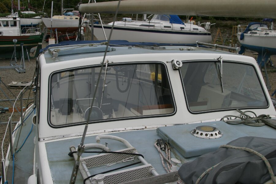 Finnsailer 35ft Motor Sailer Wheelhouse