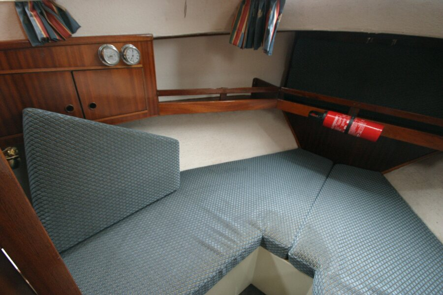 Finnsailer 35ft Motor Sailer Forward cabin, port side