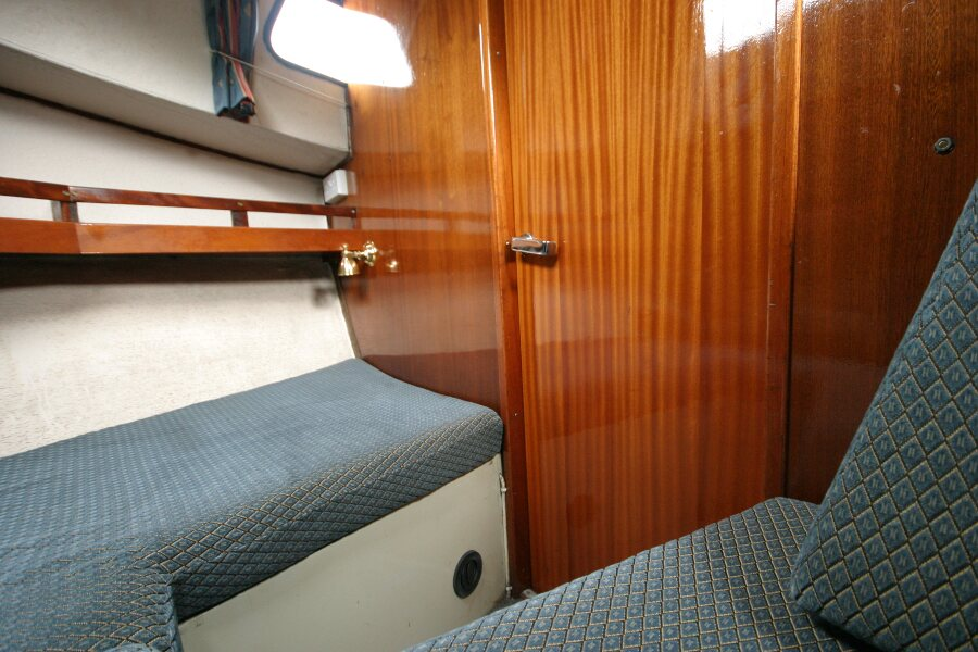 Finnsailer 35ft Motor Sailer Forward cabin starboard side