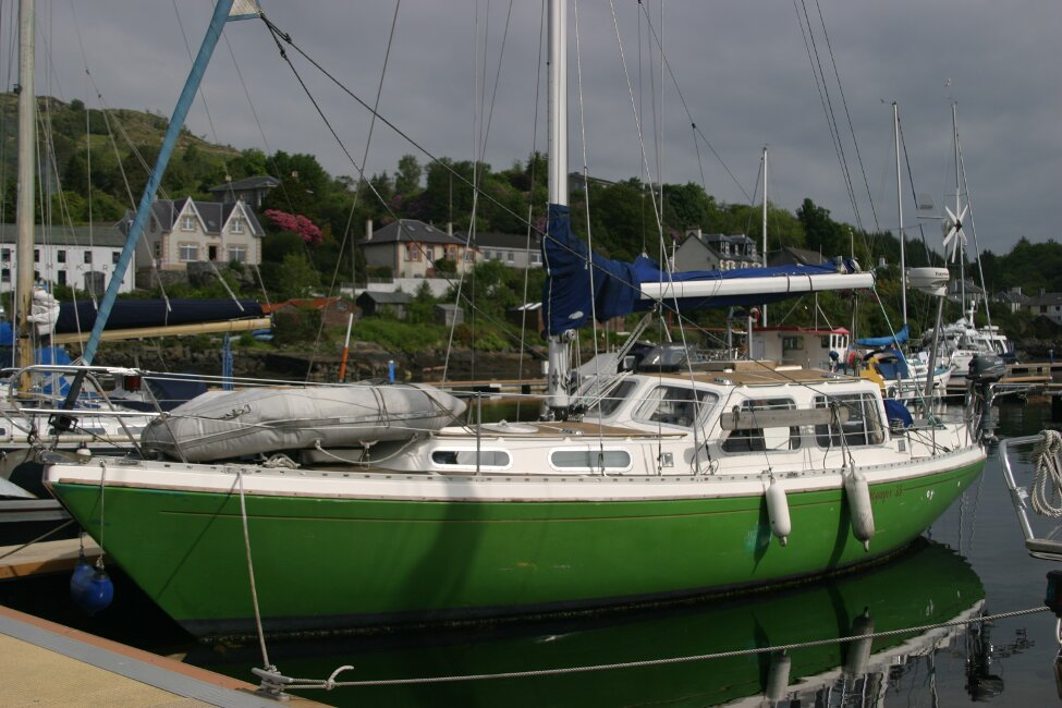 Trident Voyager 35for sale Berthed -