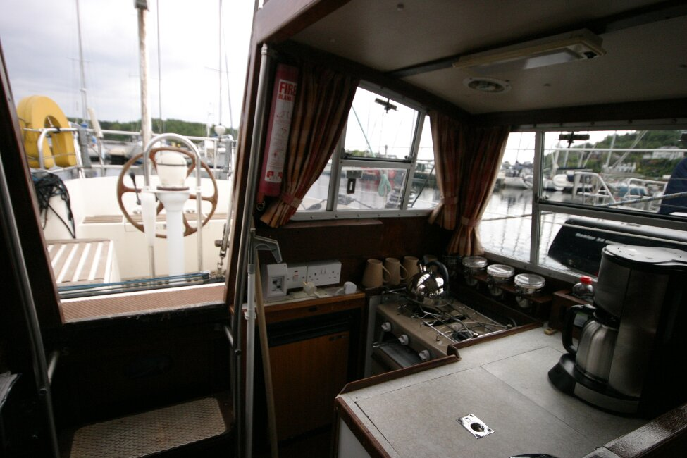 Trident Voyager 35for sale Galley -