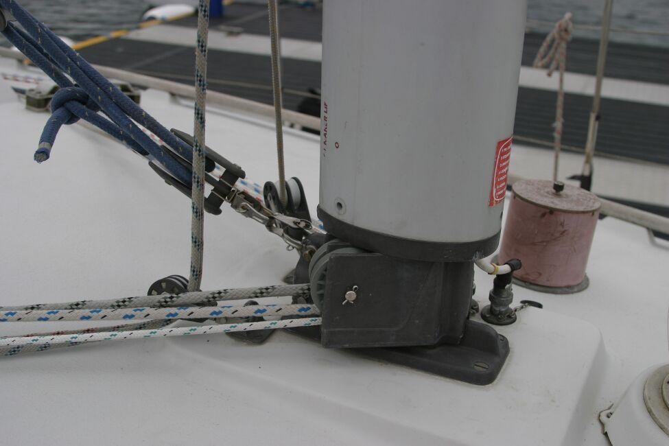 Sadler 29 Mast Base