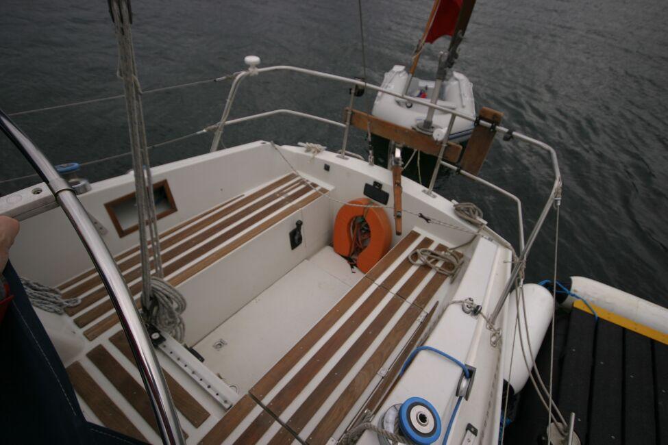 Sadler 29 Cockpit