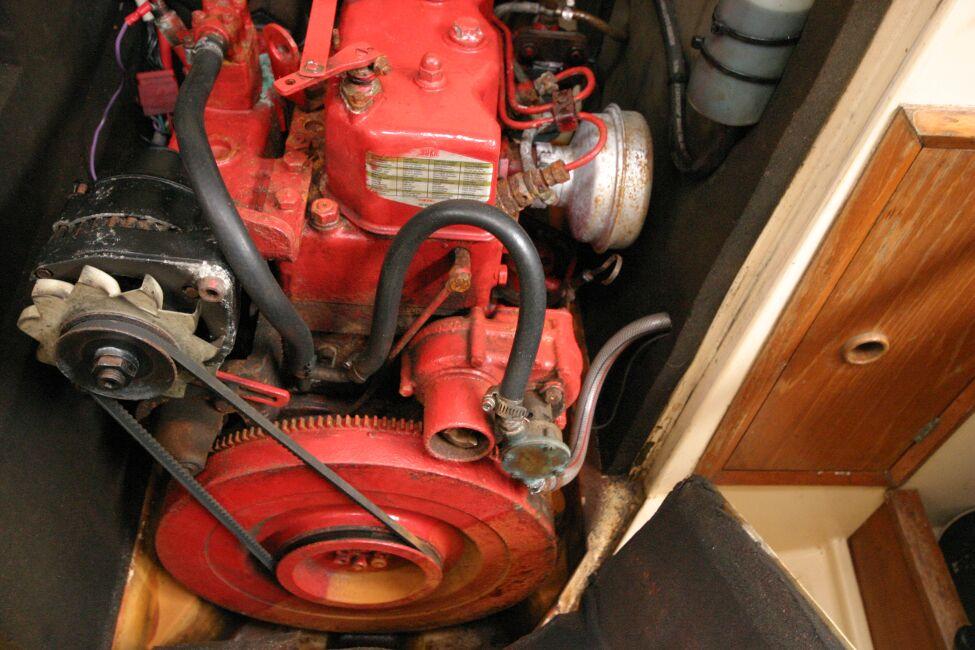 Sadler 29 Engine