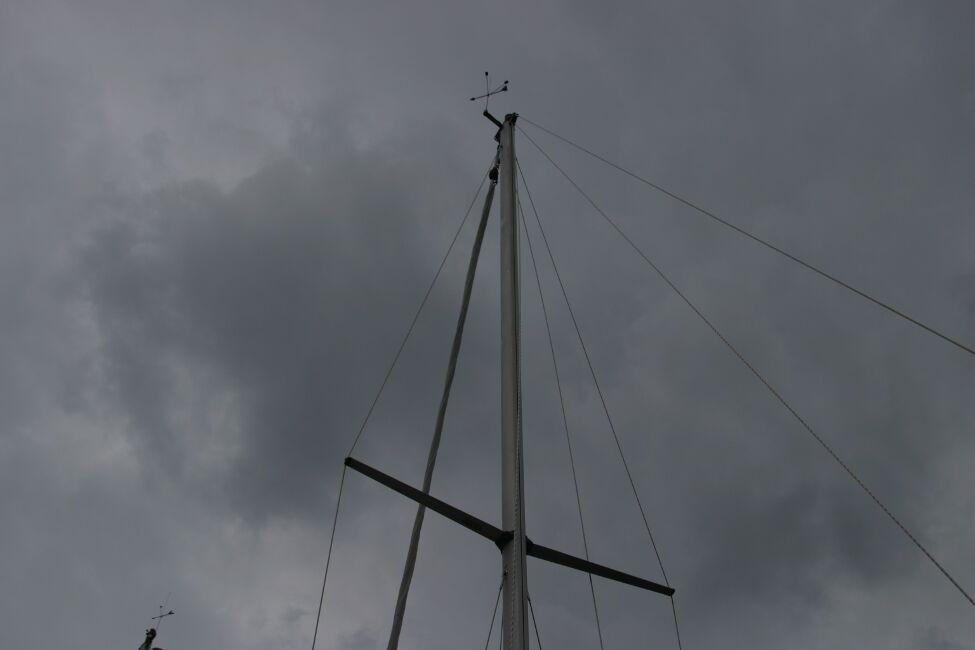 Sadler 29 Mast and Rigging