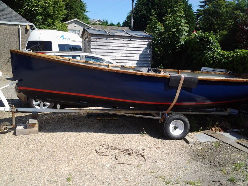 Dayboat  / Fishing Boatfor sale On road trailer ready to go -