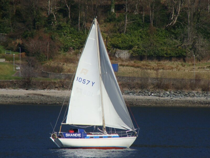 Twister 28 Sailing on the Clyde