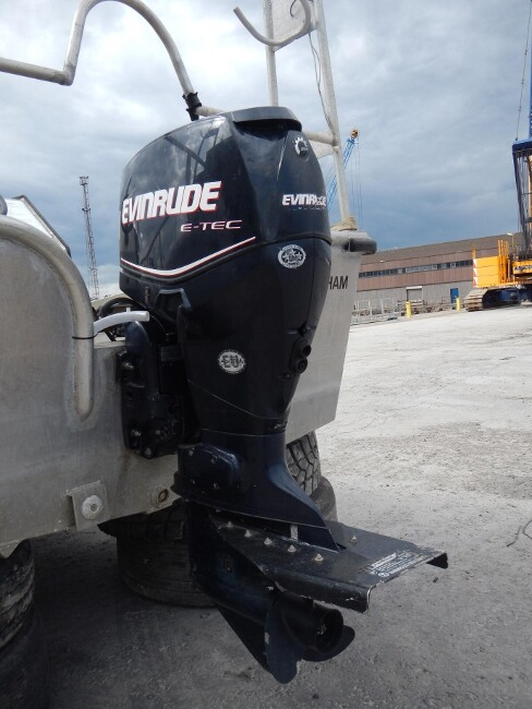 Robust 17C Workboatfor sale Evinrude ETEC E75 - Owner's photo