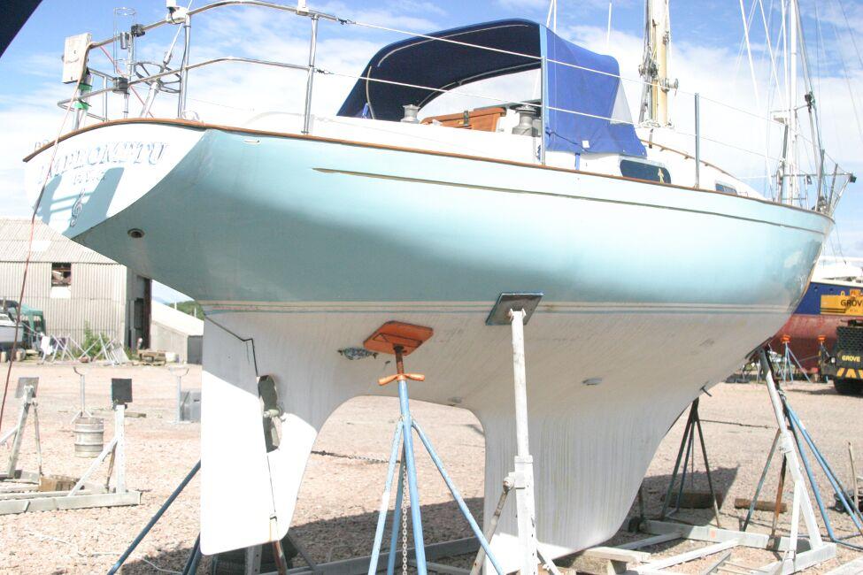 Contessa 32 Starboard Aft Quarter