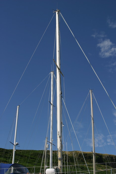 Contessa 32for sale Full mast and rig -