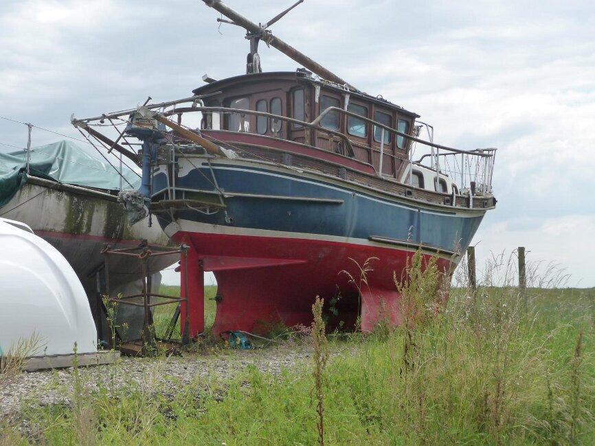 Colvic Watson 26/8 Custom Boatyard view