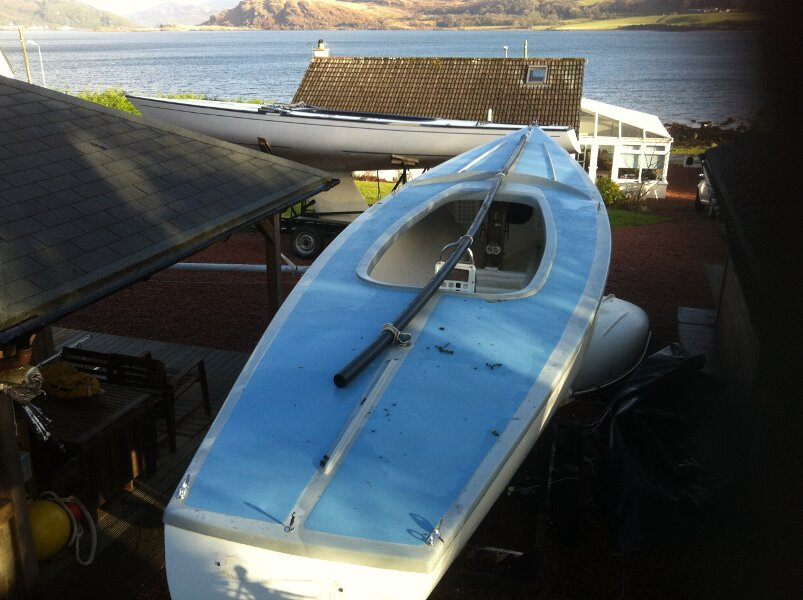 Soling International 27for sale Decks and Cockpit -