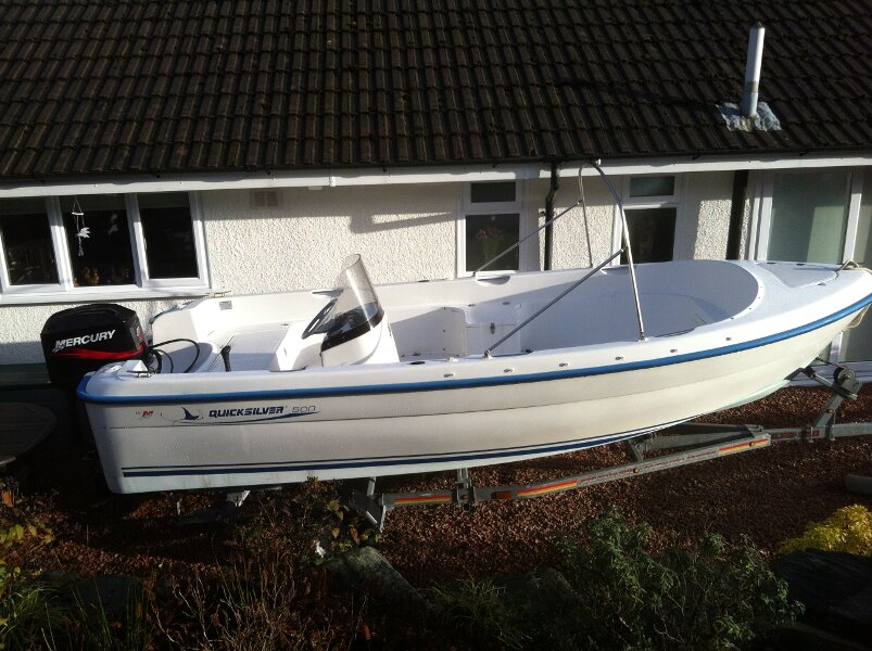 Quicksilver 500 Fishfor sale  -