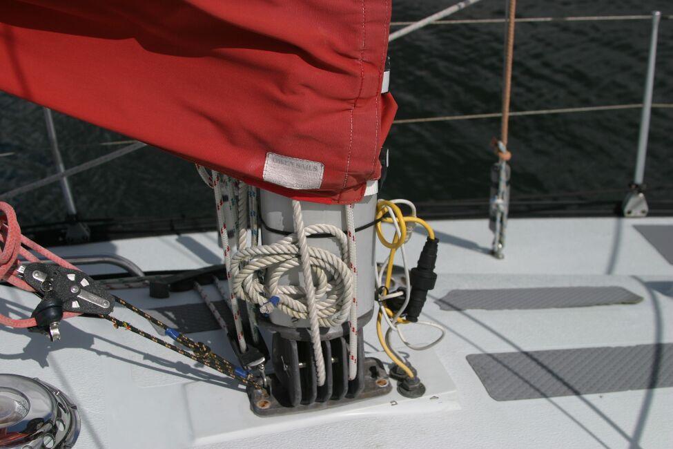 Thames Marine Everitt YCA 29 Mast Base, Starboard side