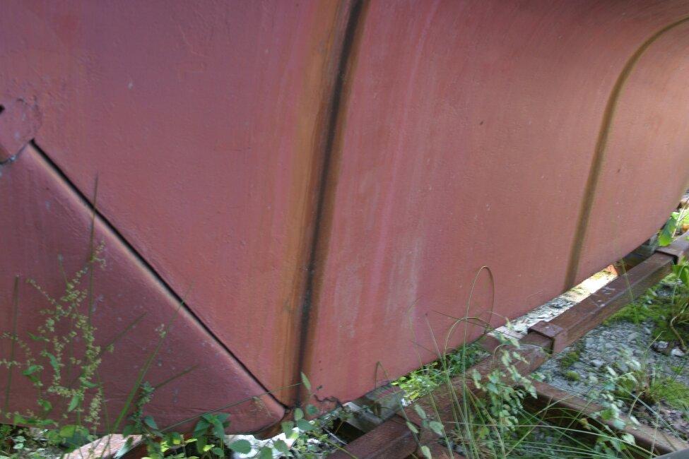 Nicholson 32 Mk X Keel, starboard
