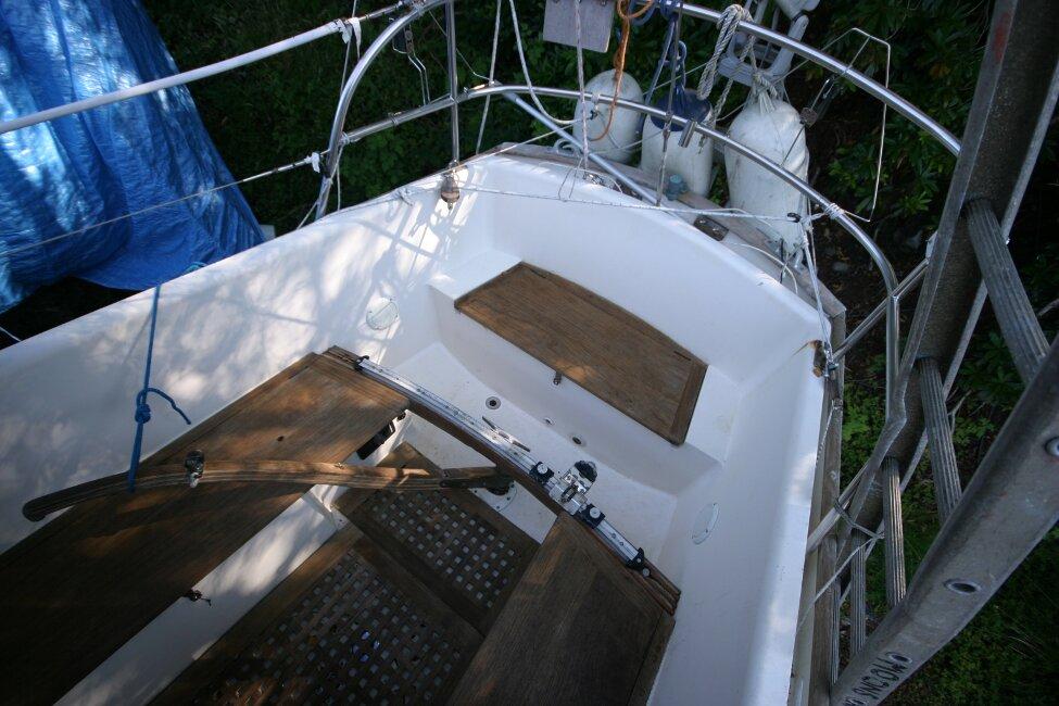 Nicholson 32 Mk X Cockpit