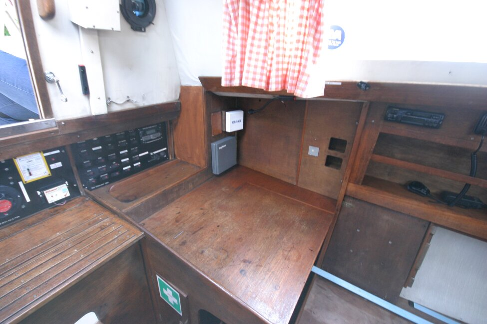 Nicholson 32 Mk Xfor sale Nav station, port side -
