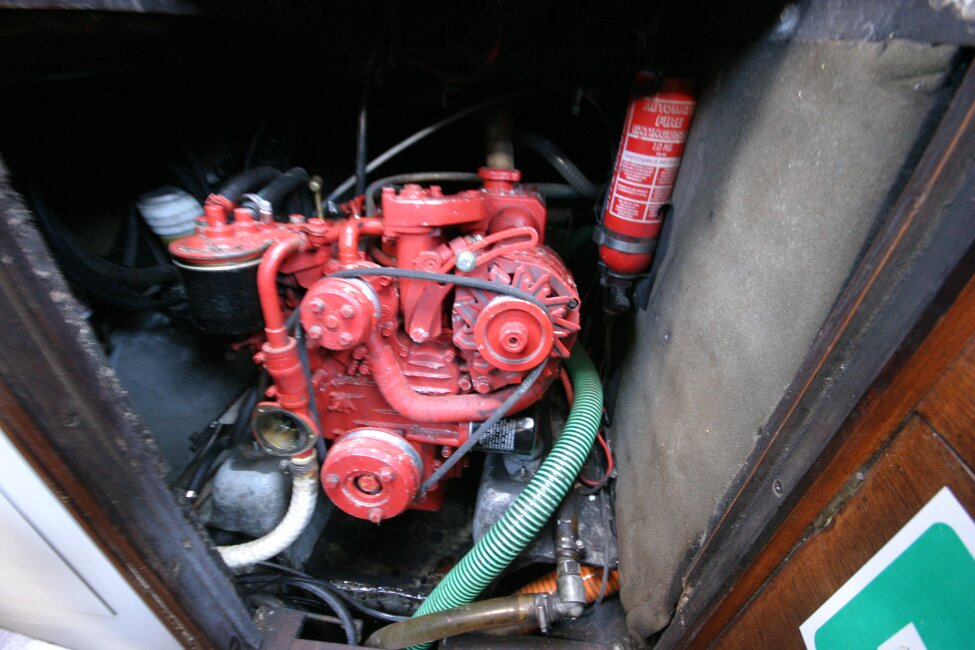 Nicholson 32 Mk Xfor sale Engine - under companionway steps -