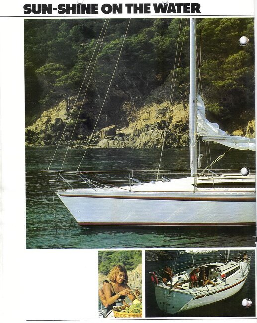 Jeanneau SunShine Regatta 38 Manufacturer's Brochure