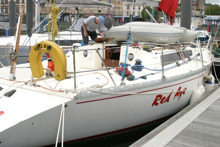 Jeanneau SunShine Regatta 38 Starboard side