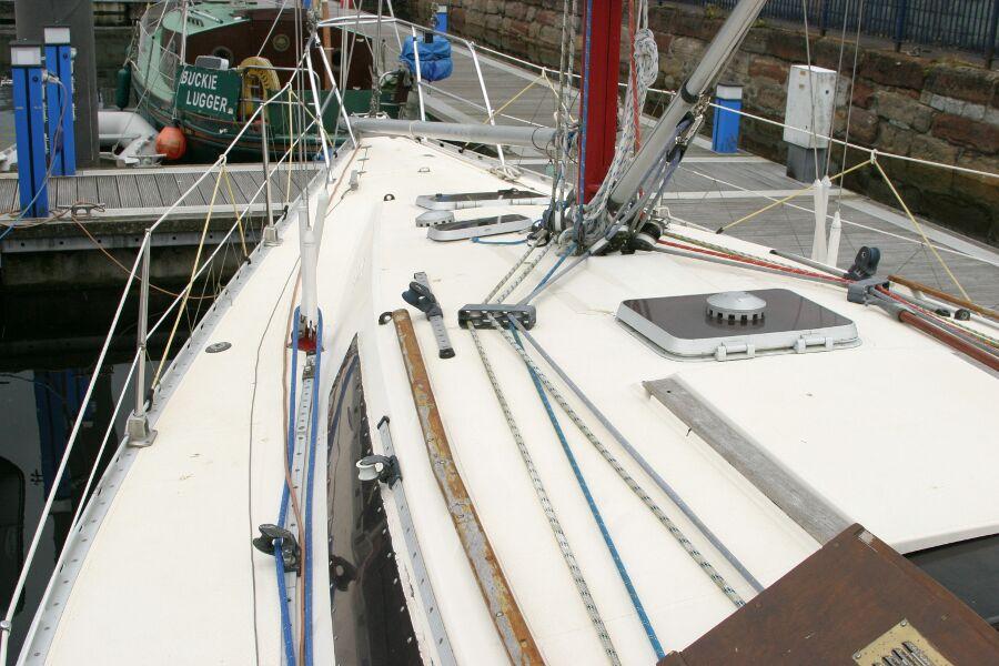 Jeanneau SunShine Regatta 38 Port Side Looking Forward