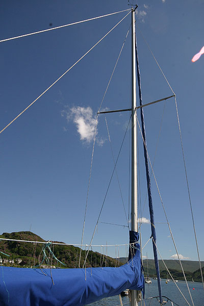 Moody 30for sale Mast & Rigging -