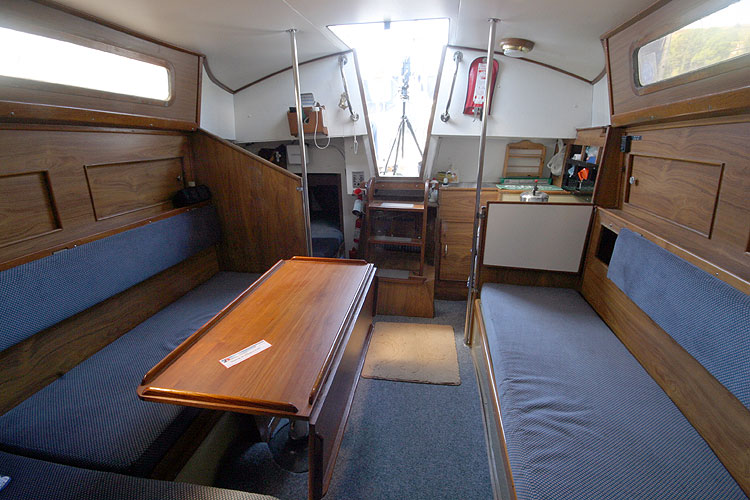 Moody 30for sale View aft -