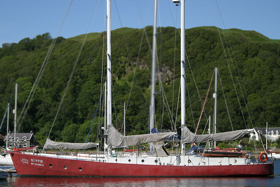 Hugh Maclean and Sons 70 foot Staysail Schooner