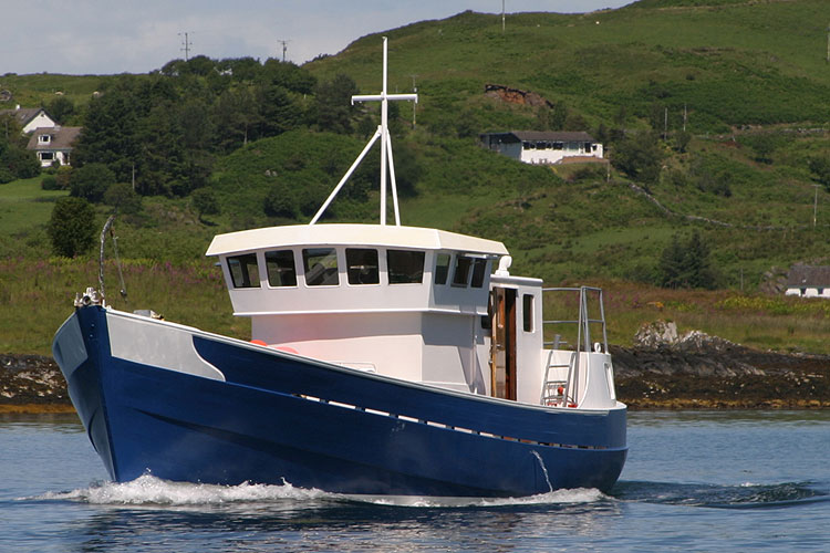 R J Prior Trawler Yacht Conversion - NOT FOR SALE, details