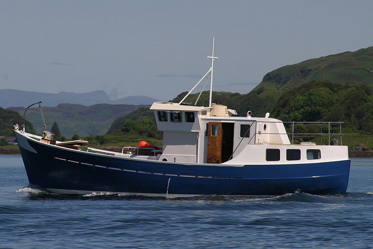 R J Prior Trawler Yacht Conversion