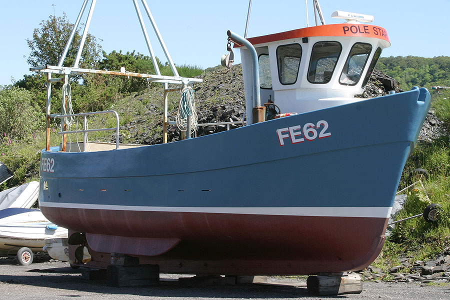 Commercial IP27 GRP Creel Boat - NOT FOR SALE, details for