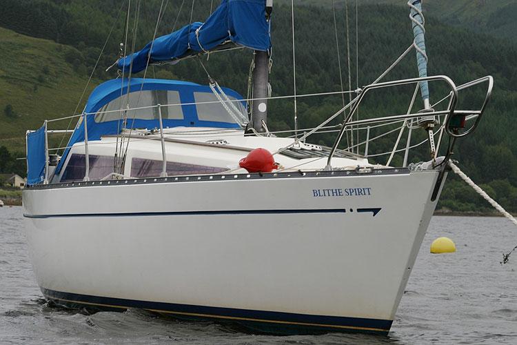 Leisure 27 Bilge Keel - NOT FOR SALE, details for