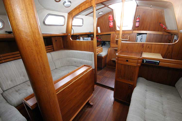 Vancouver 32for sale View aft -