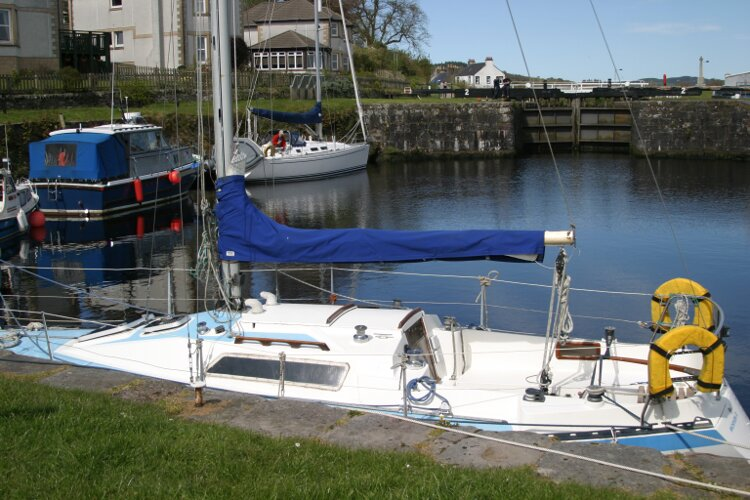 Colvic UFO 27for sale Port Side at berth -