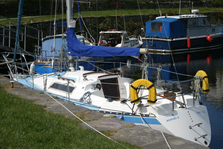 Colvic UFO 27for sale Starboard Aft Quarter -