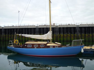 Wooden Classic 29 foot Bermudan Sloop