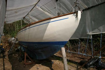 Dyer Brothers 23' Auxilliary Canoe Stern Yawl for sale