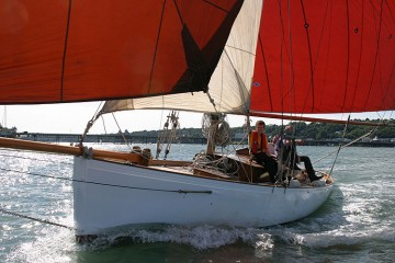 Classic Victorian gentlemans yacht for sale