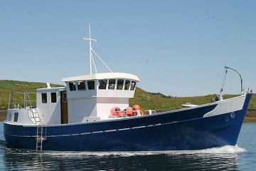 R J Prior Trawler Yacht Conversion for sale