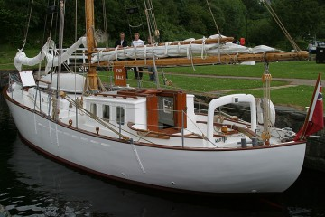 Classic Gaff Cutter for sale