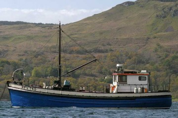 Wooden Classic Ex Admiralty MFV for sale